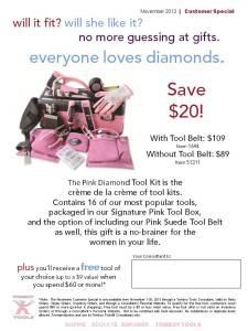 Pink Diamond Special!